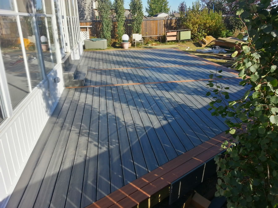 Composite custom sundecks decking solutions by nate 39 s for 2 4 metre decking boards