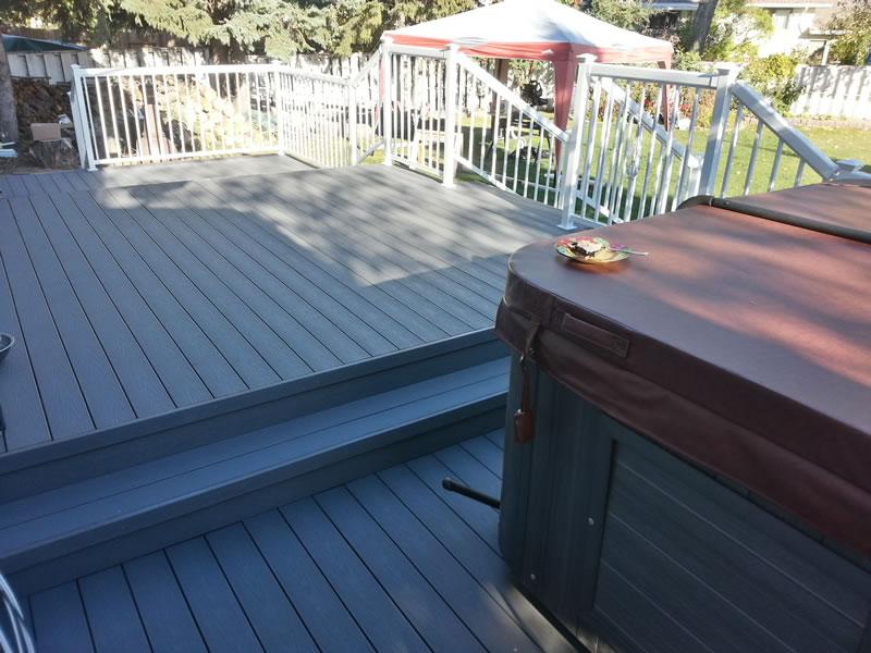 Composite custom sundecks decking solutions by nate s